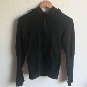 Lululemon Black Scuba hoodie size 4